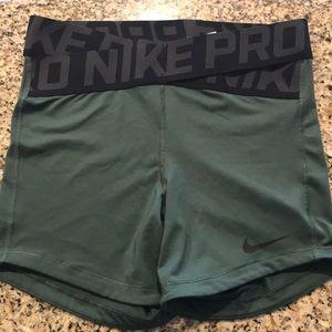 Nike Pro Crisscrossed Band Booty Shorts